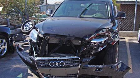 Opkopers Audi Auto's met Schade