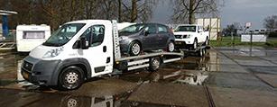 Schadewagens en kapotte wagens voor de export gevraagd