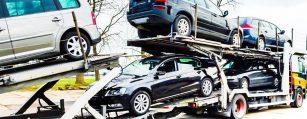 schadewagen voor export verkopen